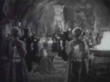 Return of Chandu--temple cavern