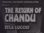 Return of Chandu titles