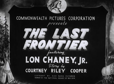 The Last Frontier--titles