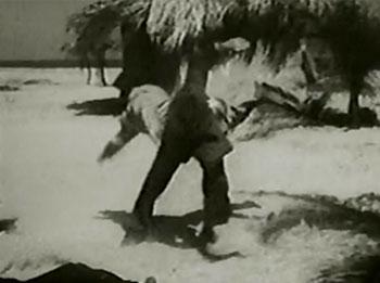 Black Coin--beach-village fight