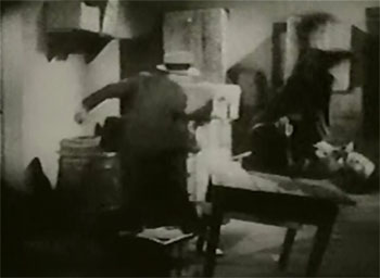 Black Coin--storeroom fight