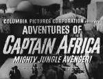 Captain Africa--titles