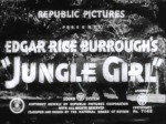 Jungle Girl--titles