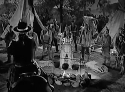Man with the Steel Whip--first meeting with Indians