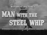 Man with the Steel Whip titles