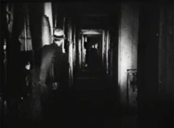 Whispering Shadow--corridor shot