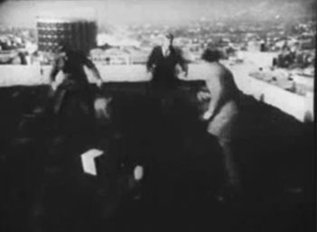 Whispering Shadow--rooftop fight