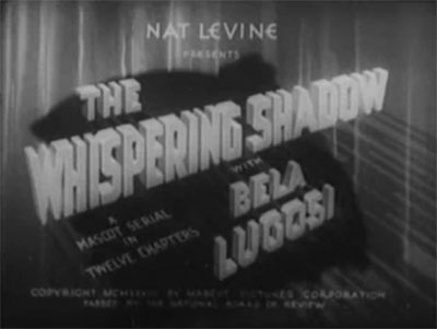 Whispering Shadow--titles