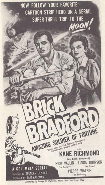 Brick Bradford--poster