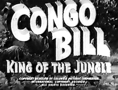 Congo Bill--titles
