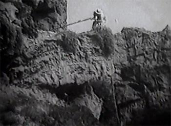 Jungle Queen--cliff climb