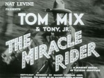 The Miracle Rider--titles