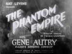 Phantom Empire--titles