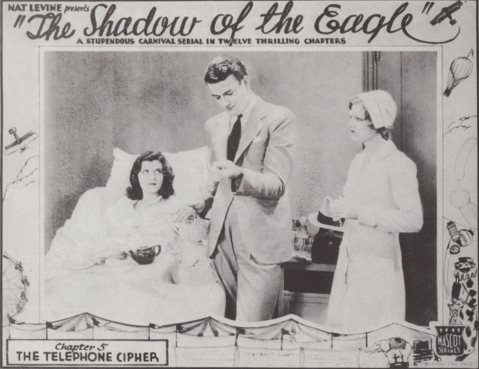 Dorothy Gulliver--Shadow of the Eagle card