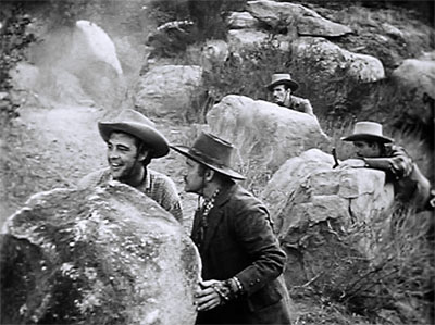 Riders of Death Valley--Chaney and pack