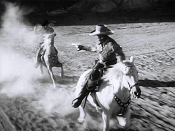 Riders of Death Valley--gun battle on horseback