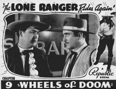 Wheeler Oakman--Lone Ranger Rides Again