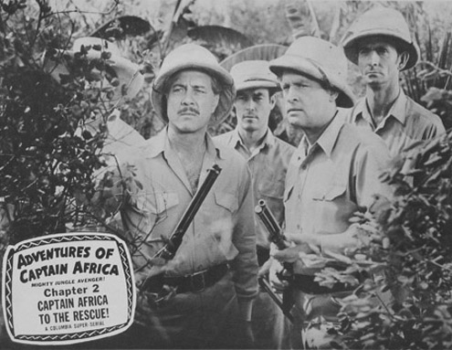Terry Frost--Captain Africa