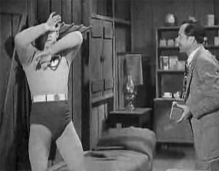 Terry Frost--Superman