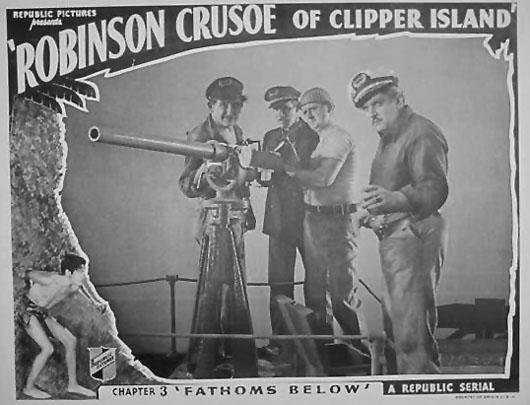 Bud Osborne--Robinson Crusoe
