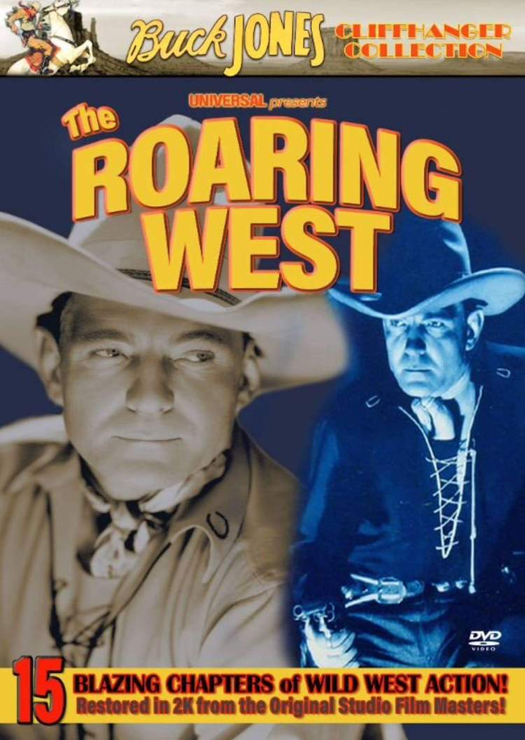 The Roaring West cover